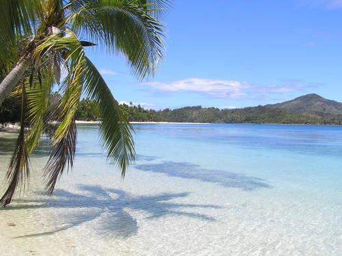 пляж на Фиджи