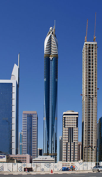 Башня Розы, Дубаи