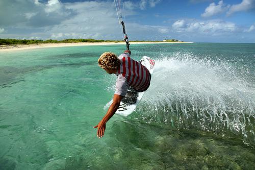 Серфинг на Антигуа и Барбуда