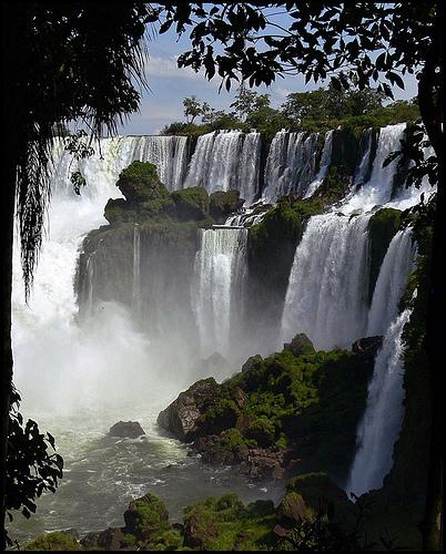 Водопад Iguazu в Аргентине