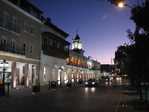 Вечерняя столица Аргентины - Буэнос-Айрес