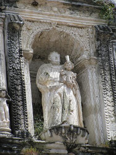 Архитектурный памятник Сан-Хосе в Гватемале