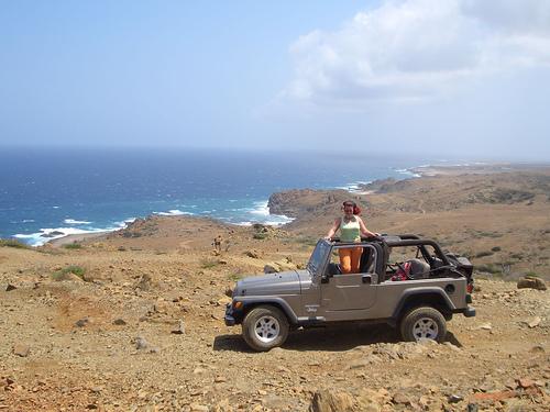 Экскурсия на машине по о. Аруба