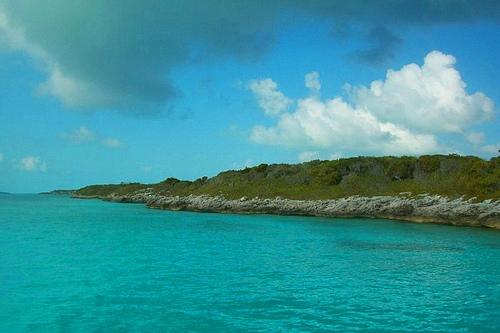 Вид на Багамы со стороны океана