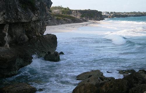 Каменистое северное побережье Барбадоса