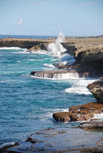 Каменистые берега Барбадоса