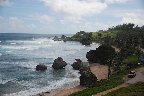 Ветряная погода на Барбадосе