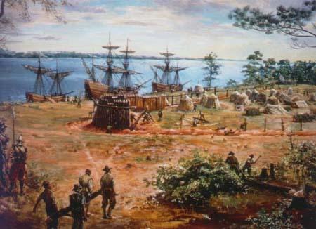Заселение Бермудских островов