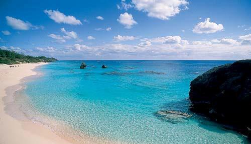 Голубая лагуна на Бермудах