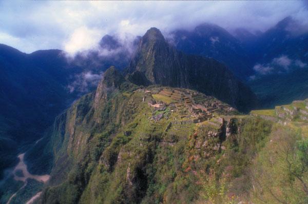 Вид на Анды в Боливии