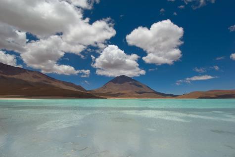 Озеро Солончак в Боливии