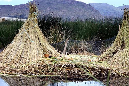 Рыбацкий шалаш в Боливии