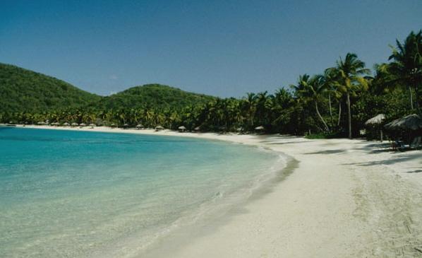 Песчаные пляжи Британских Вергинских о-вов