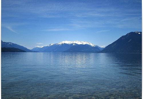 Синева канадского озера Гурон