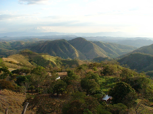 Горная местность Коста Рики
