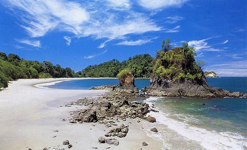 Песчаное побережье Коста Рики