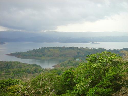 Вид на залив Коста Рики со стороны суши