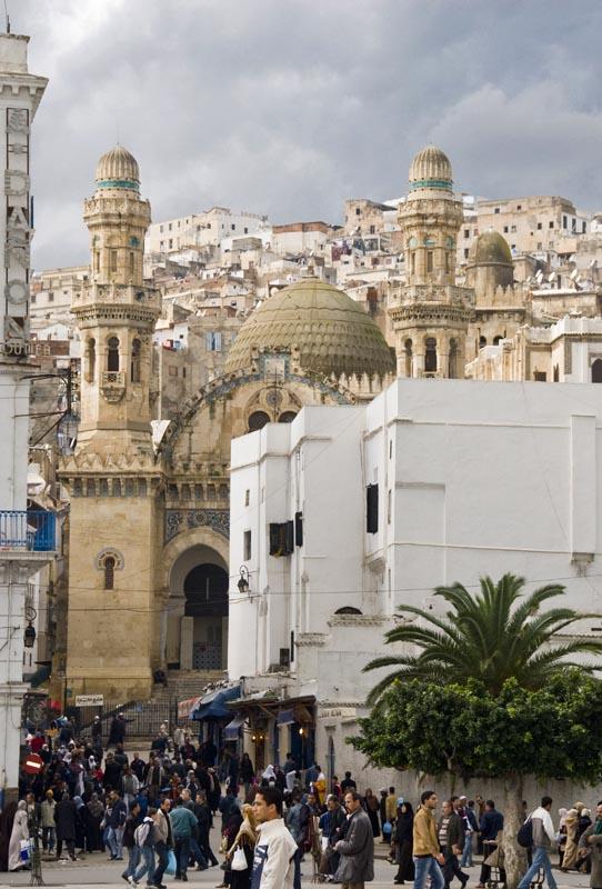 Алжир. Ксаба. Мечеть Кетчеуа