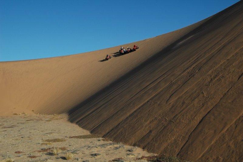 Ангола. Намибийская пустыня. Картинг в пустыне