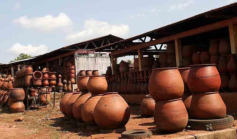 Бенин. Гончарство деревни Поттери