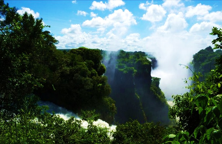 Ботсвана. Водопад Виктория