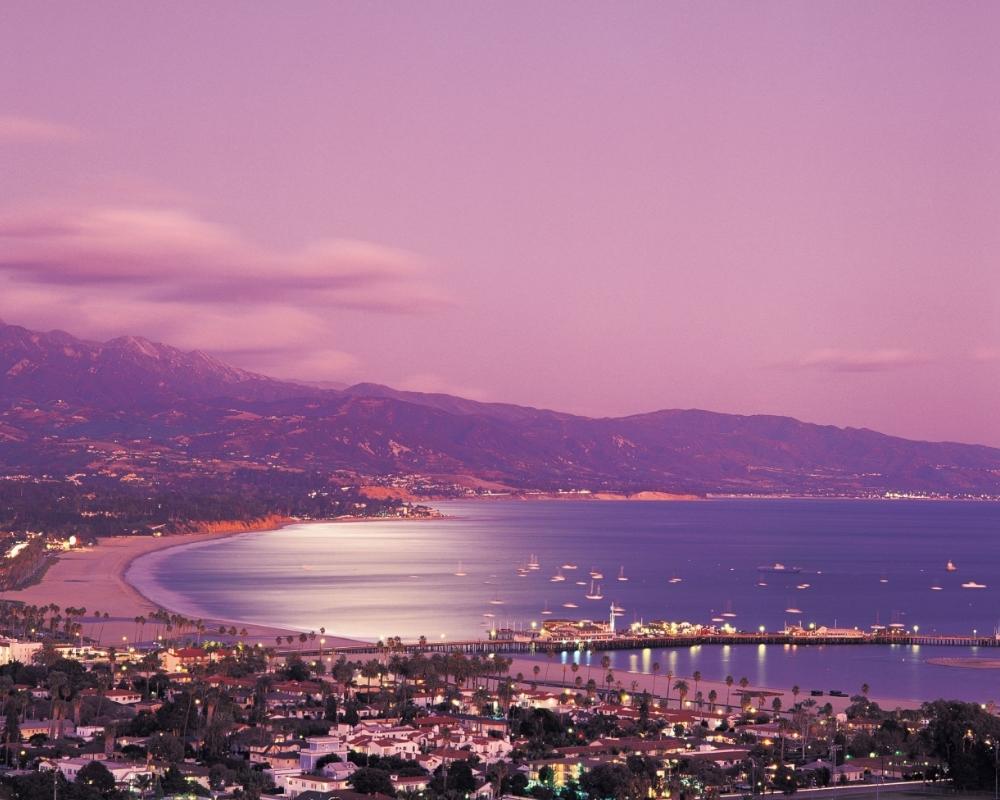Закат над Санта-Барбарой