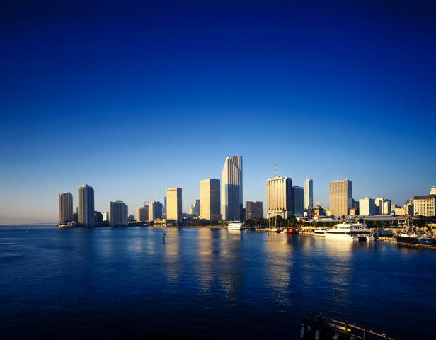 Панорамный вид Майами