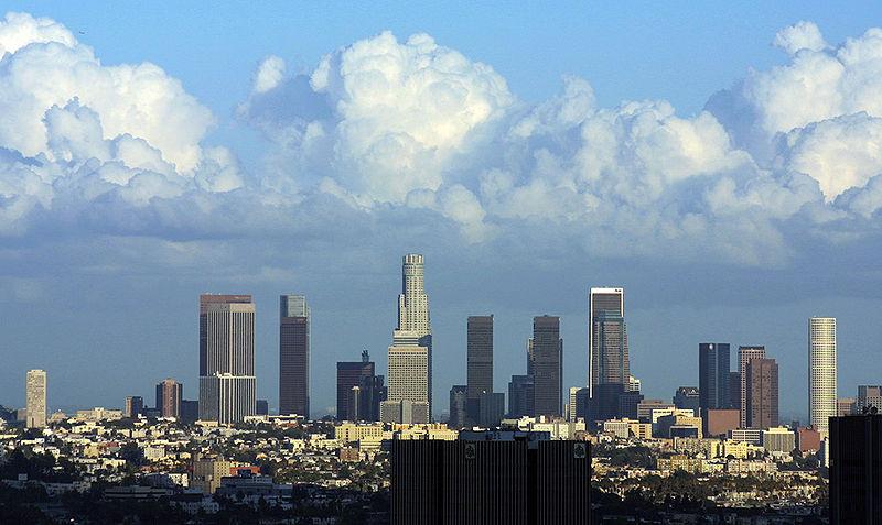Панорамный вид центра Детройта