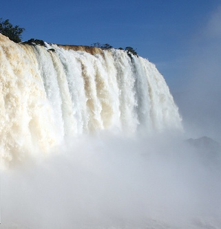 Красивейший водопад в Бразилии