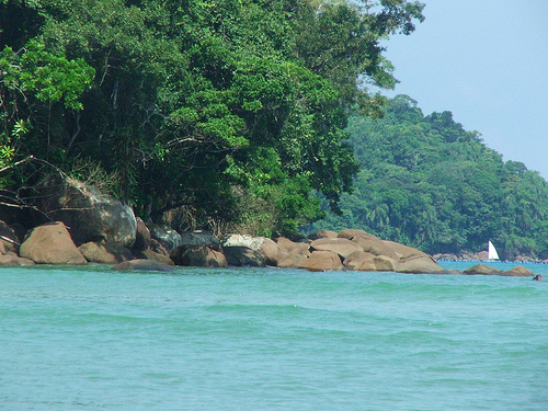 Залив у берегов Бразилии