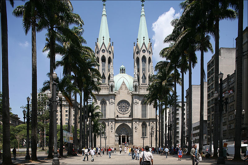 Католичечский собор в г. Сан-Паулу. Бразилия