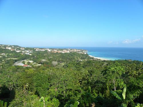 Панорама на побережье Ямайки