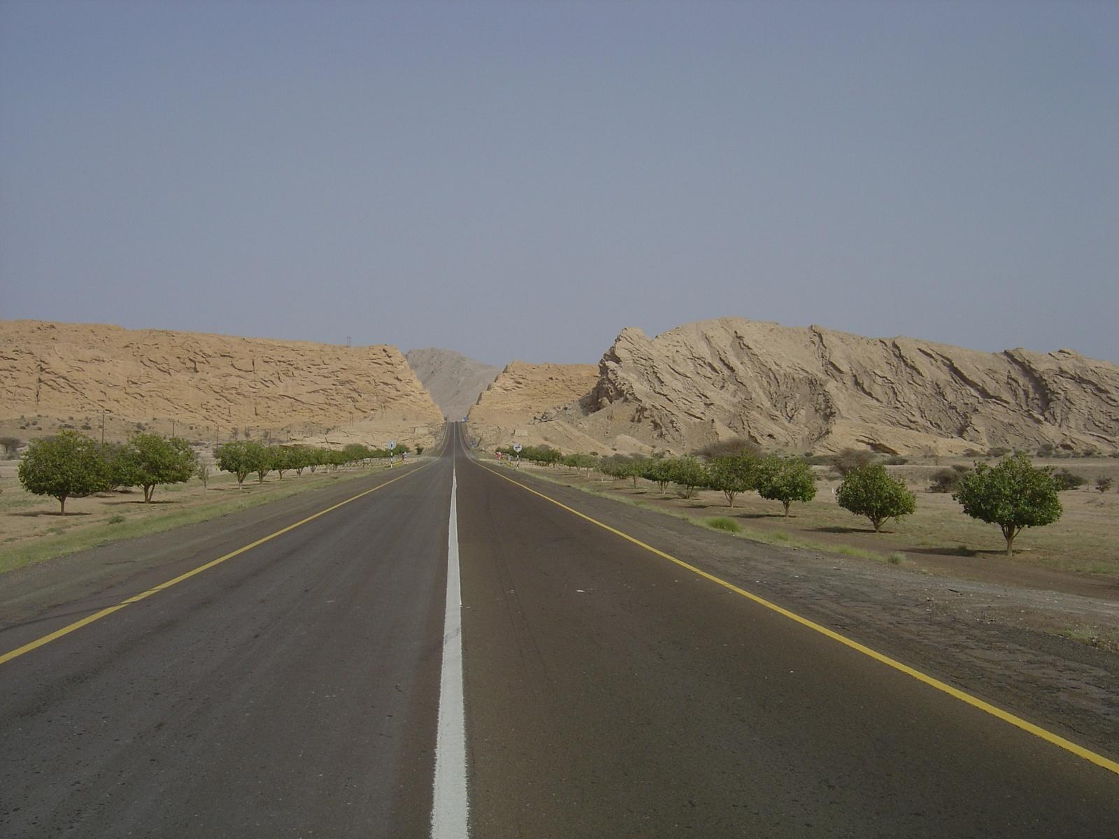 По дороге в Маскат