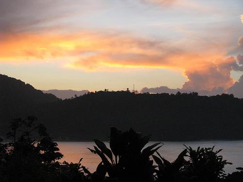 Закат над Тринидад и Тобаго