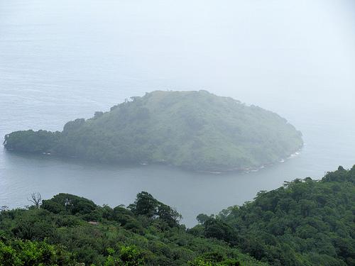 Дымка над островами Тринидад и Тобаго