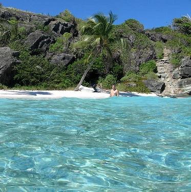 Залив возле Тринидад и Тобаго