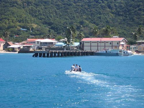 Гавань у берегов Тринидад и Тобаго
