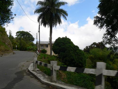 Дорога в горы в Тринидад и Тобаго