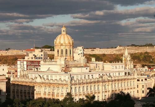 Центр столицы Кубы - г.Гавана