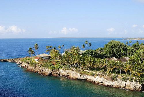 Прибрежная территория Доминиканской республики