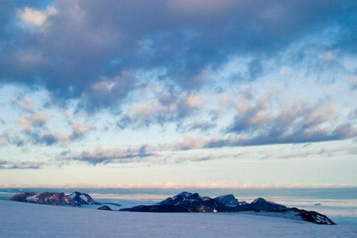 Сумерки в Гренландии