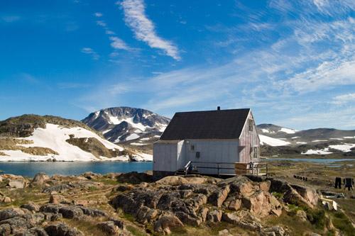 Жилые районы Гренландии
