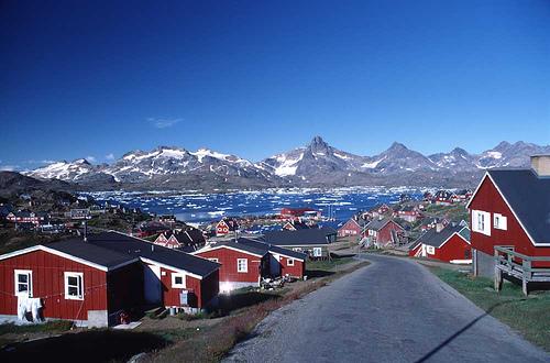 Столица Гренландии - г. Нуук