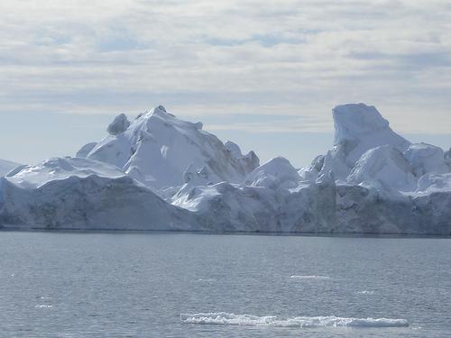 Ледяные исполины у берегов Гренландии