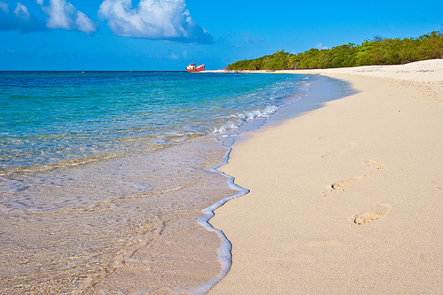 Песчаные пляжи Гренады