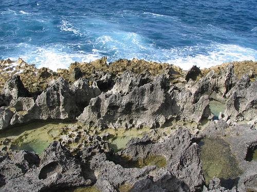 Каменистые районы Гваделупы