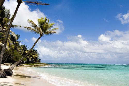 Песчаные пляжи Гваделупы