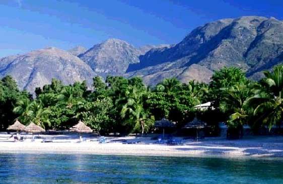 Песчаный пляж Гаити