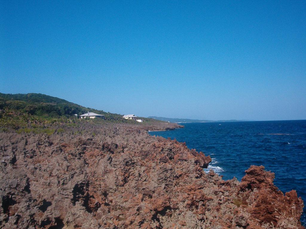 Каменистые берега Гондураса