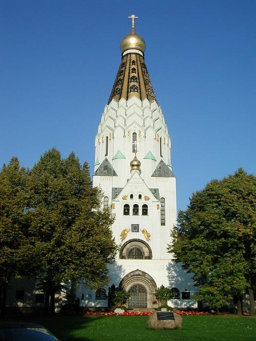 The entire russian church